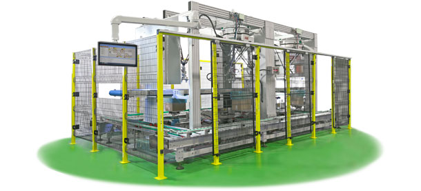 IR-CS - Frozen products robotic packing line